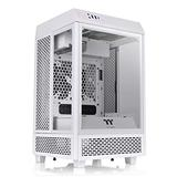 Thermaltake Tower 100 Snow Edition Tempered Glass Type-C (USB 3.1 Gen 2) Mini Tower Computer Chassis Supports Mini-ITX CA-1R3-00S6WN-00