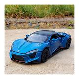 NMBD Diecast & Toy Vehicles 1:24 for Lykan Hypersport die cast Alloy Cars Model Supercar Boy Gift Collectibles Child car Toy (Size : 1:32-6)