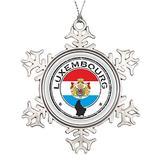 VinMea Xmas Snowflake Ornaments Luxembourg Seal Christmas Snowflake Ornaments Ideas for Decorating Christmas Trees