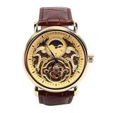 Fashion Watch for Men - Stainless Steel Automatic Mechanical Watch Wristwatch Business Casual Watch (02)