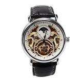 Fashion Watch for Men - Stainless Steel Automatic Mechanical Watch Wristwatch Business Casual Watch (03)