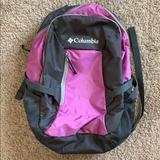 Columbia Bags   Columbia Bookbag   Color: Gray/Purple   Size: Os