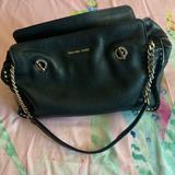 Michael Kors Bags   Michael Kors Black Handbag With Chain Straps   Color: Black   Size: Os