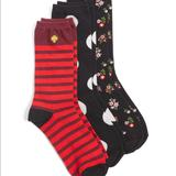 Kate Spade Accessories   Kate Spade Socks   Color: Black/Red   Size: Os
