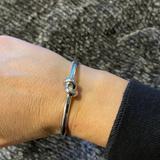 Kate Spade Jewelry | Kate Spade Love Me Knot Bracelet Silver | Color: Silver | Size: Os