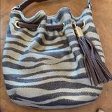 Michael Kors Bags   Michael Kors Tassel Bag   Color: Brown/Tan   Size: 8inx8in