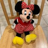 Disney Toys | Disney Souvenirs - Minnie And Mickey Stuffed Toys | Color: Black/Red | Size: Osbb