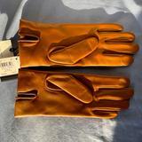 Coach Accessories | Leather Coach Tech Gloves | Color: Brown/Tan | Size: 7