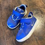 Nike Shoes   Blue Nike Flex Contact 3 Infant Toddler Baby Shoes   Color: Blue/White   Size: 6bb