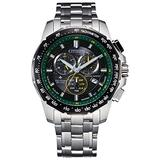 Men's Citizen Eco-Drive Chronograph Stainless Steel Watch BL5578-51E