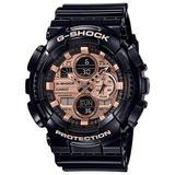 Casio G-Shock Special Color GA-140GB-1A2DR Analog Quartz Black Resin Men's Watch