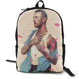 Unisex Sam Smith Backpack Student School Bag Travel Backpack Laptop Backpack Teen School Backpack Rucksack