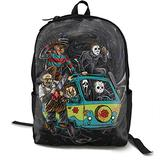 Unisex Abbey Road Killer-Freddy Horror Movie Backpack Student School Bag Travel Backpack Laptop Backpack Teen School Backpack Rucksack