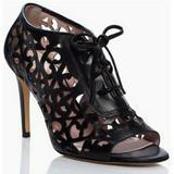 Kate Spade Shoes   Kate Spade Izarra Black Lace Up Cutout Heels 9b   Color: Black   Size: 9