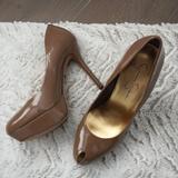 Jessica Simpson Shoes   Jessica Simpson Peep Toe Pump   Color: Tan   Size: 7