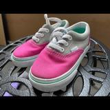 Vans Shoes   Kids 2t3t Vans   Color: Blue/Pink   Size: 3bb