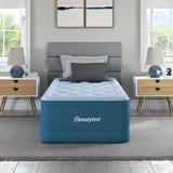 Beautyrest Air Mattress w/ Built in Pump in Blue, Size 75.0 H x 39.0 W x 17.0 D in   Wayfair MM09717TW