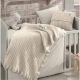 Greyleigh™ Baby & Kids Olivera 6 Piece Crib Bedding Set Cotton/Wool/Synthetic Fabric in Brown, Size 47.0 W in | Wayfair