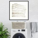 Joss & Main Accordion Shift IV by Vanna Lam - Picture Frame Painting Print on Paper Paper in Brown/Gray/White, Size 41.12 H x 41.12 W in   Wayfair