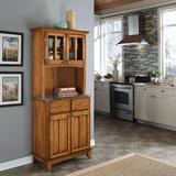 Andover Mills™ Presswood Dining HutchWood in Brown, Size 72.0 H x 36.0 W x 15.85 D in   Wayfair C48D1459DA264EEE8804055932031EA3