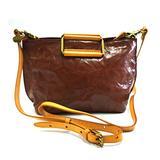 Rarestan genuine leather shoulder bag, leather handbag cross body bag, metal handle handbag,vintage leather bag (Brown)