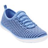 Wide Width Women's CV Sport Ariya Sneaker by Comfortview in French Blue (Size 8 W)