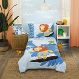 Zoomie Kids Finnerty Little Dude Adventure 4 Piece Toddler Bedding Set Polyester in Yellow | Wayfair 80471D80ED5C4FC29A445F41C5B81CB7