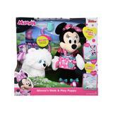 Disney Minnie Mouse Stuffed Animals - Minnie's Walk & Play Puppy Plush Toy