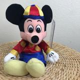 Disney Toys | Mickey Mouse Plush Toy 9 Mini Bean Bag | Color: Blue/Red | Size: Osbb