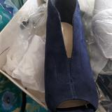 Nine West Shoes | New Peep Toe Platform Platform Ankle Boots | Color: Blue | Size: 7