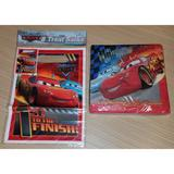 Disney Party Supplies   Lightning Mcqueen Disney Cars Napkins Treat Bags   Color: Blue/Red   Size: Os