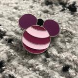 Disney Accessories   Disney Cheshire Cat Mickey Ears Pin   Color: Pink/Purple   Size: Os