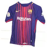 Nike Shirts & Tops | Nike Dri-Fit Barcelona Soccer T-Shirt Blue Red Y M | Color: Blue/Red | Size: Mb