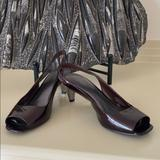 Nine West Shoes   Nine West Leather Maroon & Silver Kitten Heels   Color: Red/Silver   Size: 9
