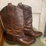 Jessica Simpson Shoes | Jessica Simpson Cowboy Boots | Color: Brown | Size: 8.5