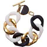 Chunky Curb Chain Bracelet - Blue - Carolina Herrera Bracelets