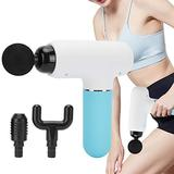 Deep Tissue Muscle Massager,USB Electric Portable Fascia Muscle Massager Relaxation Percussion Massager Gun for Pain Relief