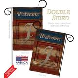 The Holiday Aisle® Glenham Patriotic 2-Sided Polyester 18.5 x 13 in. Garden Flag in Red/Black, Size 18.5 H x 13.0 W in   Wayfair