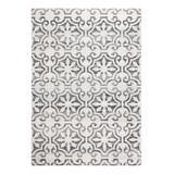 Martha Stewart Indoor Rugs Grey - Martha Stewart Isabella Rug Gray & Ivory Geometric