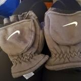 Nike Accessories | Nike Convertible Mittens | Color: Gray/White | Size: Osb