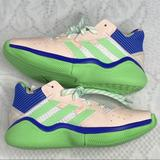 Adidas Shoes   Adidas James Harden Step Back Shoes, 3.5 Size Shoe   Color: Green/Pink   Size: 3.5bb