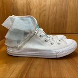 Converse Shoes   Converse Block Party High Top Sneakers Tss0061   Color: Blue/White   Size: 2g