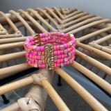 Lilly Pulitzer Jewelry   Lilly Pulitzer Stretch Pink And Coral Bracelet   Color: Orange/Pink   Size: Os