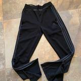 Adidas Bottoms | Kids Adidas Soccer Pants | Color: Black/Gray | Size: Lb