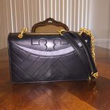 Tory Burch Bags   Nwt Tory Burch Alexa Leather Shoulder Bag   Color: Black   Size: Os