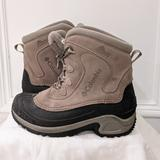 Columbia Shoes   Columbia Snow Boots   Color: Black/Tan   Size: Youth Sz 5 Unisex