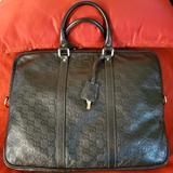 Gucci Bags   Euc!!!! Vintage Gucci Guccisima Briefcase   Color: Brown   Size: 16x12x2