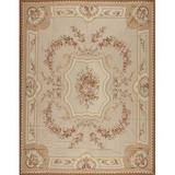 Samad Rugs One-of-a-Kind Abusson Hand-Knotted 12' x 15' Area Rug in Wool in Brown, Size 180.0 H x 144.0 W in   Wayfair