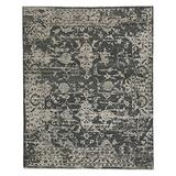 Jain Coal 10' x 14' Rectangle Hand Knotted Rug