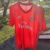 Adidas Shirts | Adidas X Parley Real Madrid 3rd Jersey 2018-2019 | Color: Red | Size: M